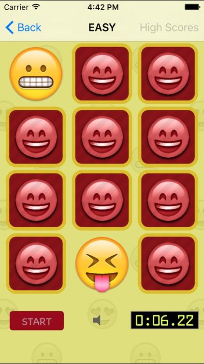 Emoji Matching Game
