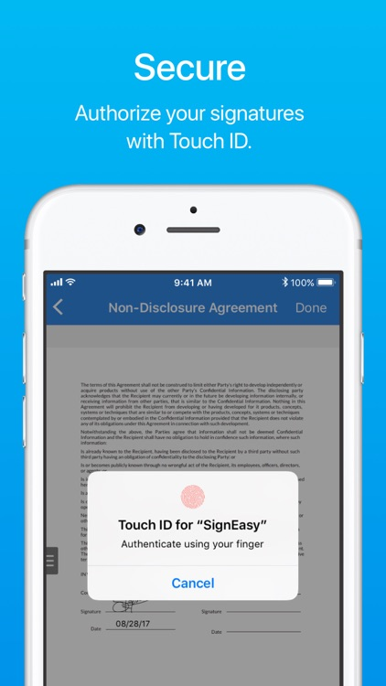 SignEasy - Sign and Fill Docs screenshot-3