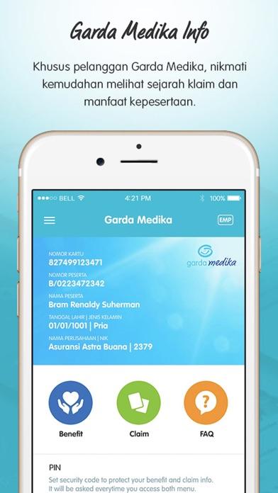 Garda Mobile - Medcare screenshot one
