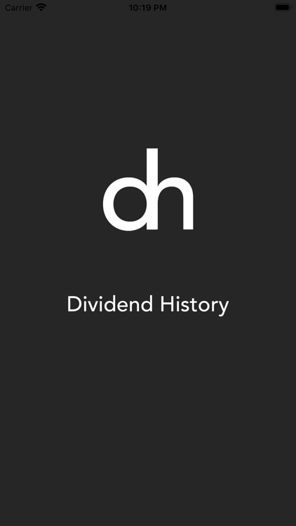 Dividend History Limited