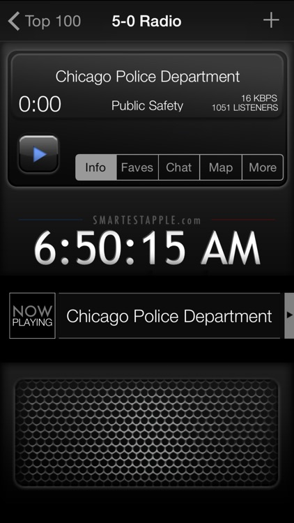 5-0 Radio Pro Police Scanner screenshot-1