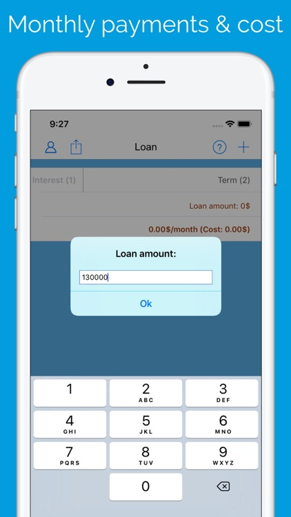 Loan / Credit Calculator