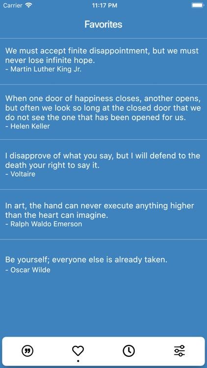 Motivational Quotes App. screenshot-3