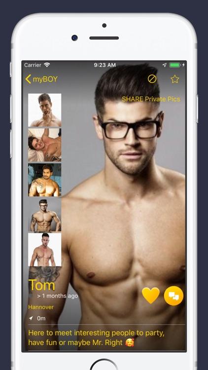myBOY - Gay Chat & Dating screenshot-3