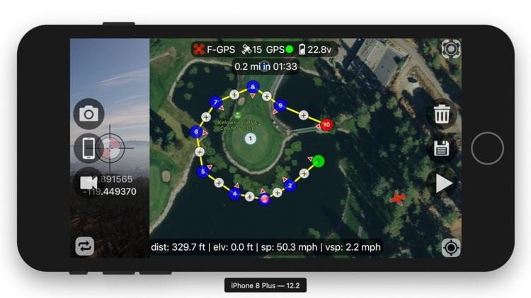 Flight Plan For DJI P2 Vision+