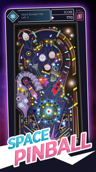Old Space Pinball screenshot 1