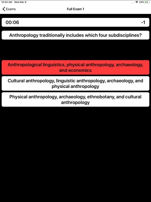 DSST Anthropology Buddy screenshot 12