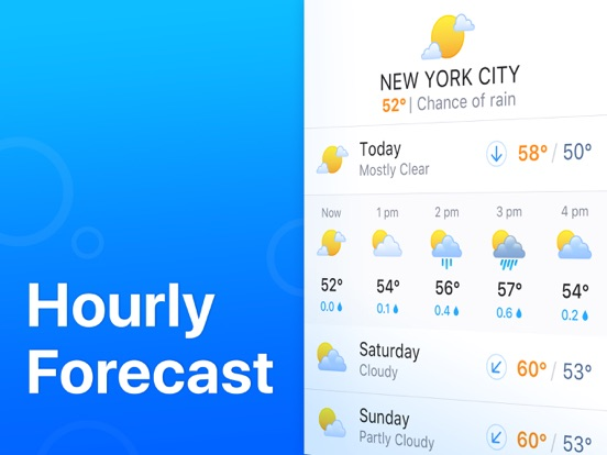 iPad Image of Weather'
