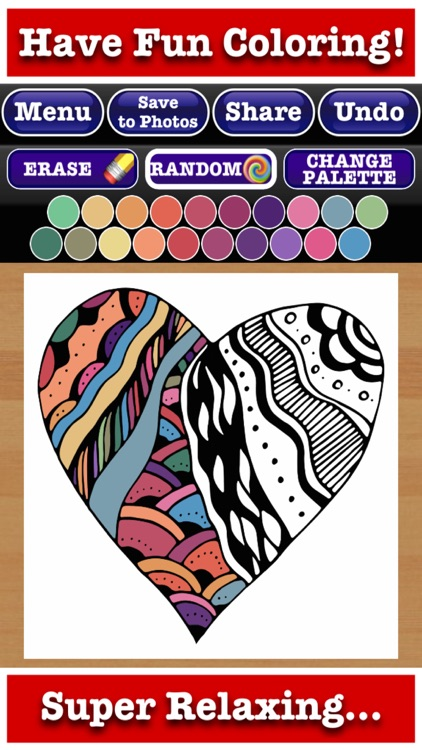 Totally Relaxing Coloring Book