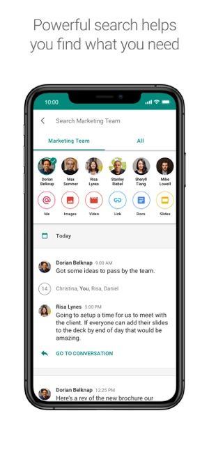 Hangouts Chat on the App Store
