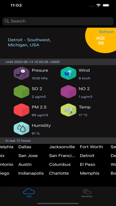 Instant Air Quality Pro screenshot 6