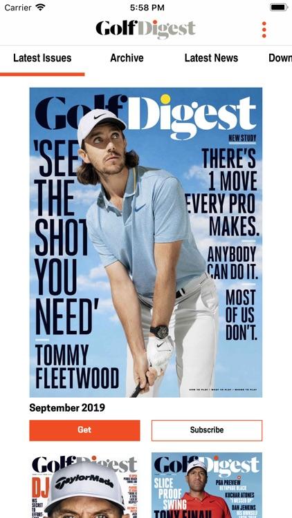 Golf Digest Magazine