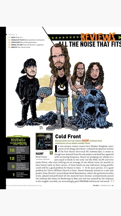 Decibel Magazine screenshot-4