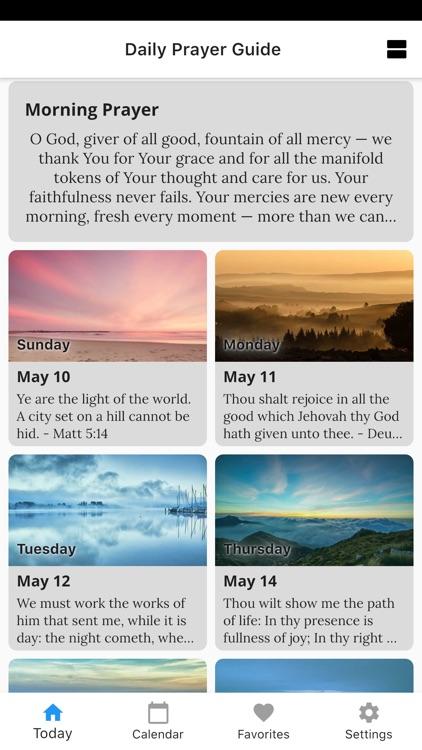 Daily Prayer Guide screenshot-3