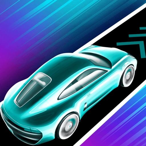 Car Rush - Dancing Curvy Roads