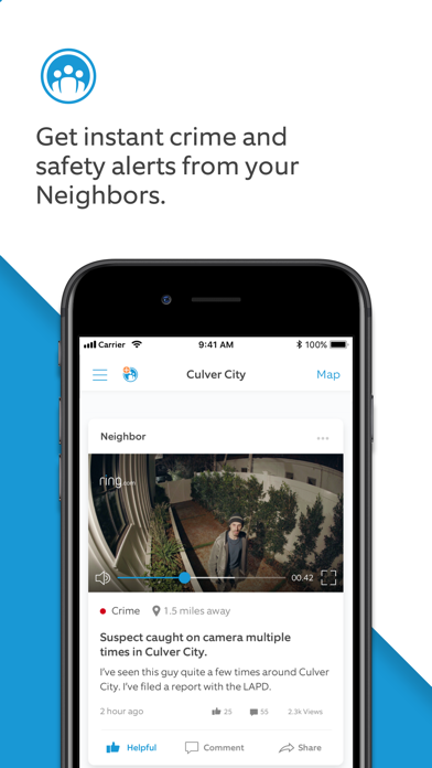messages.download Neighbors by Ring software