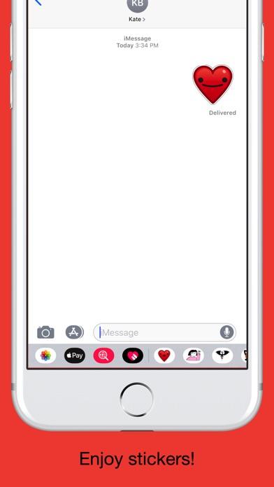 Heart - Emoji stickers screenshot 5