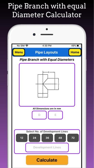 Branch Pipe Layouts screenshot 4