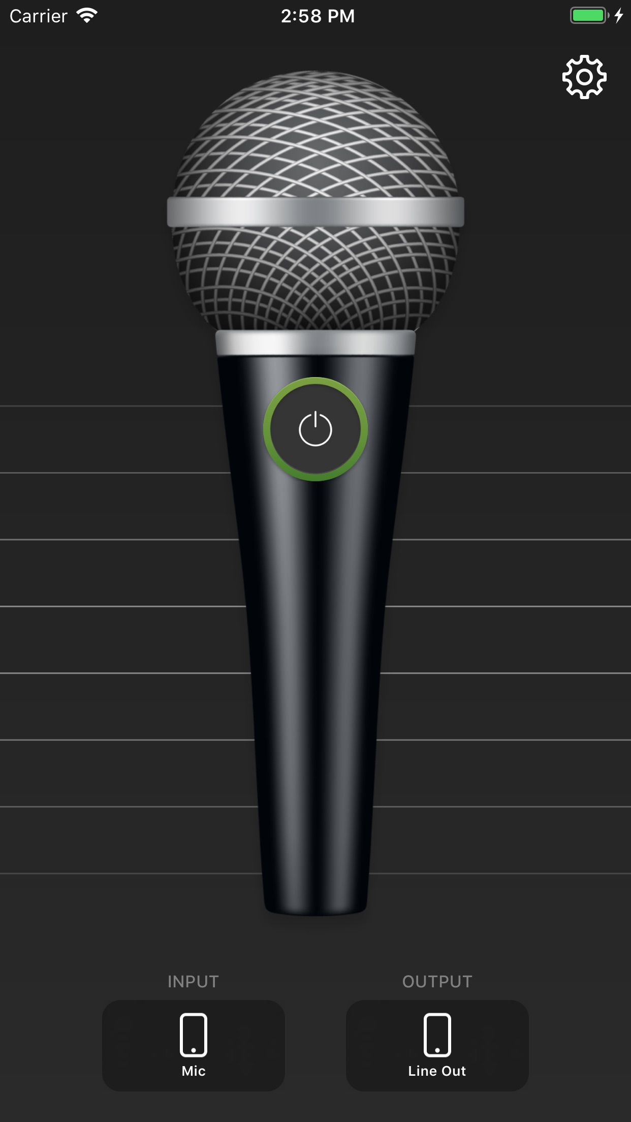 Megaphone: Voice Amplifier Screenshot