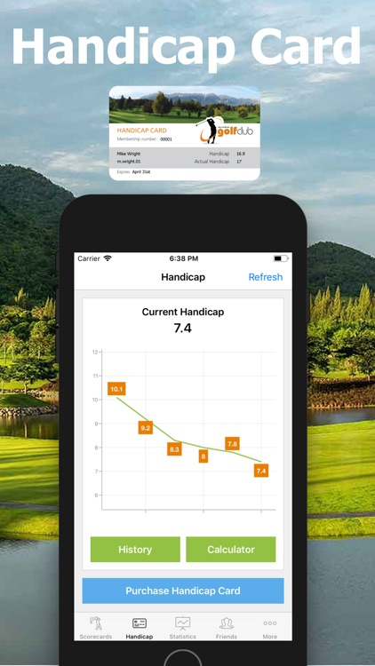 Golf Handicap - Online Golf