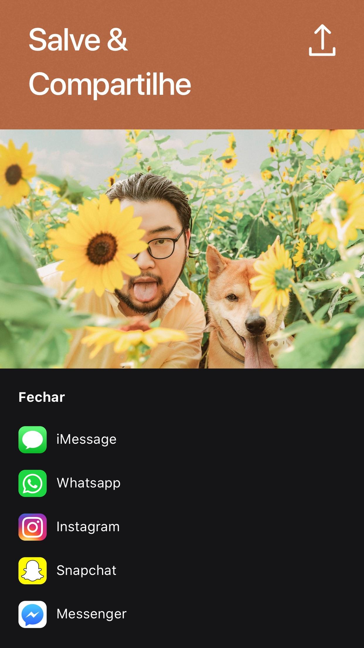 Screenshot do app Criador de GIFs por Momento