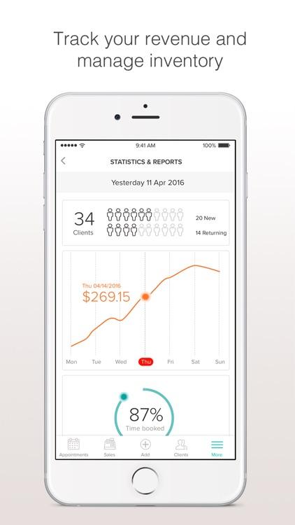 Booksy Biz: online booking app screenshot-3