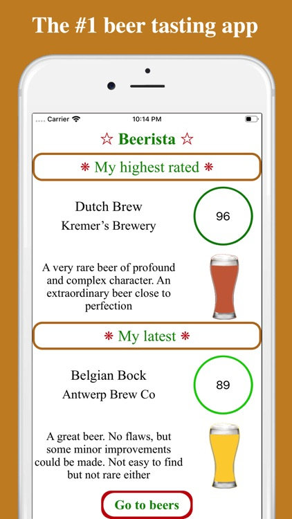 Beerista, the beer tasting app screenshot-0