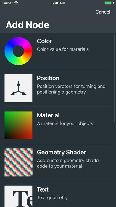 Yttrium - App - iOS me