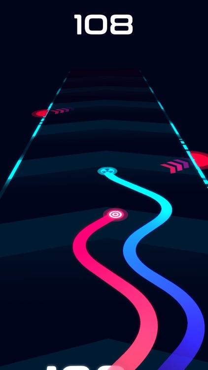 Wavy Lines: Battle Racing Game screenshot-4