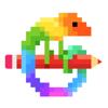 Pixel Art - 数字で色ぬり