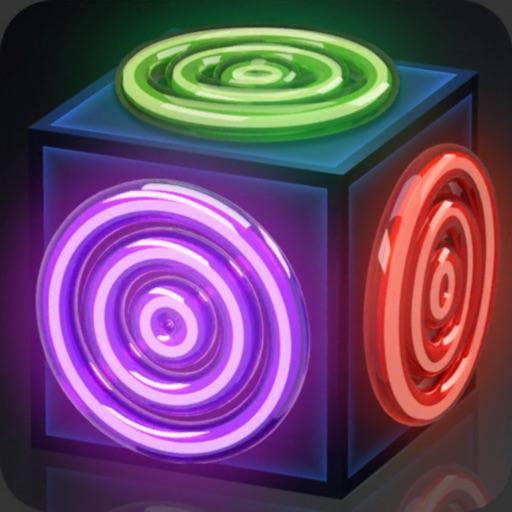 Merge Rings Neon