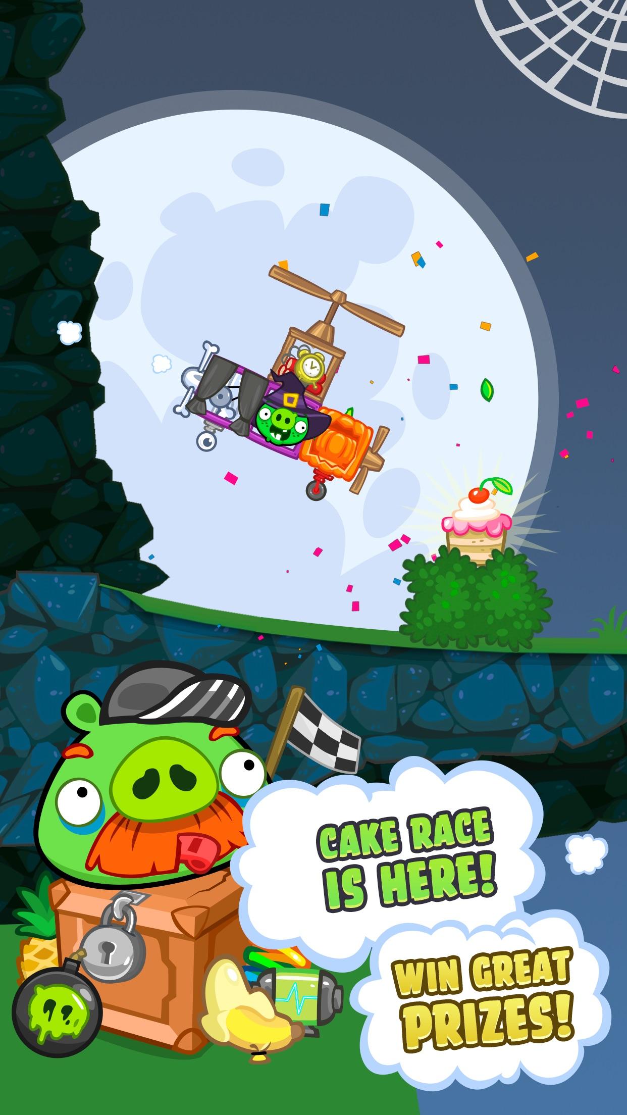 Screenshot do app Bad Piggies