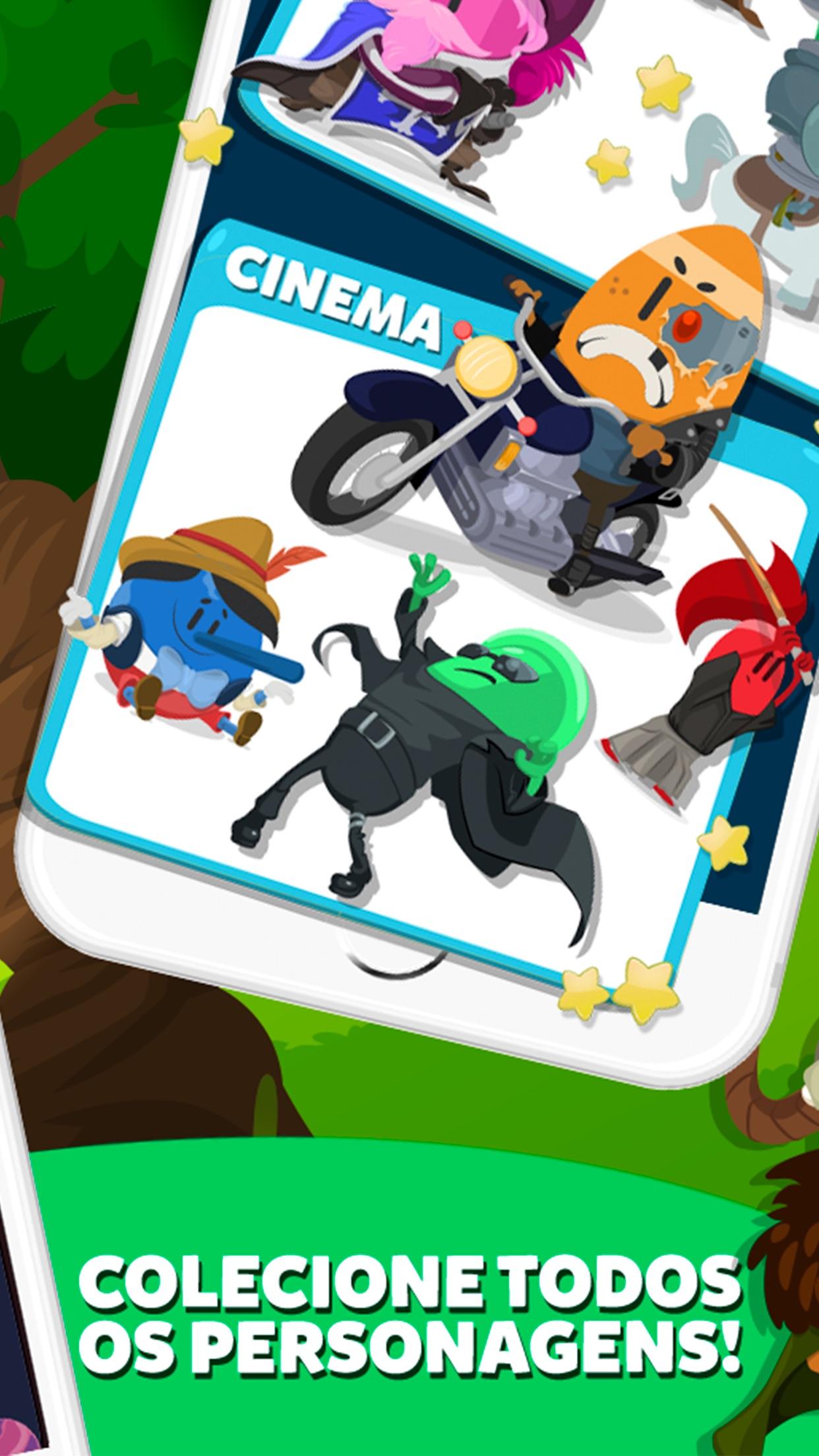 Screenshot do app Trivia Crack 2