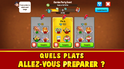 Food Street: Jeu de Restaurant