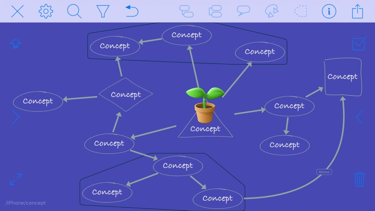 iThoughts2go - Mind Map screenshot-7