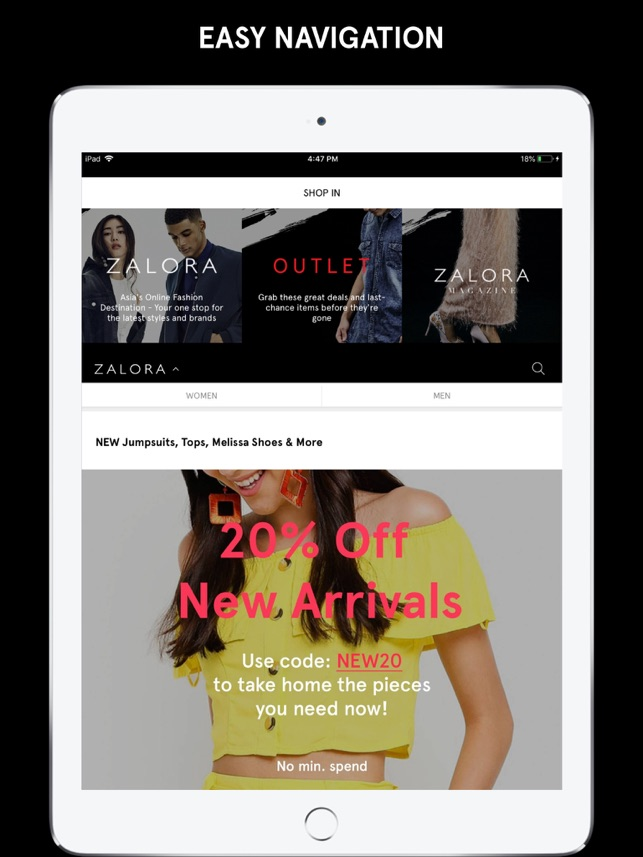 25f871af4d2  ZALORA - Fashion Shopping on the App Store