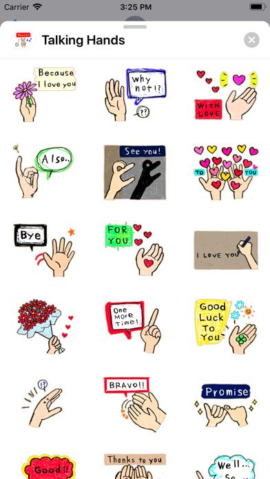 Talking - Hands screenshot 2