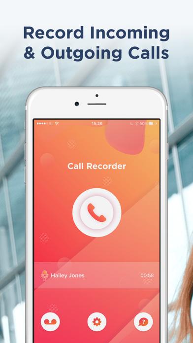 Call Recorder iCall screenshot one