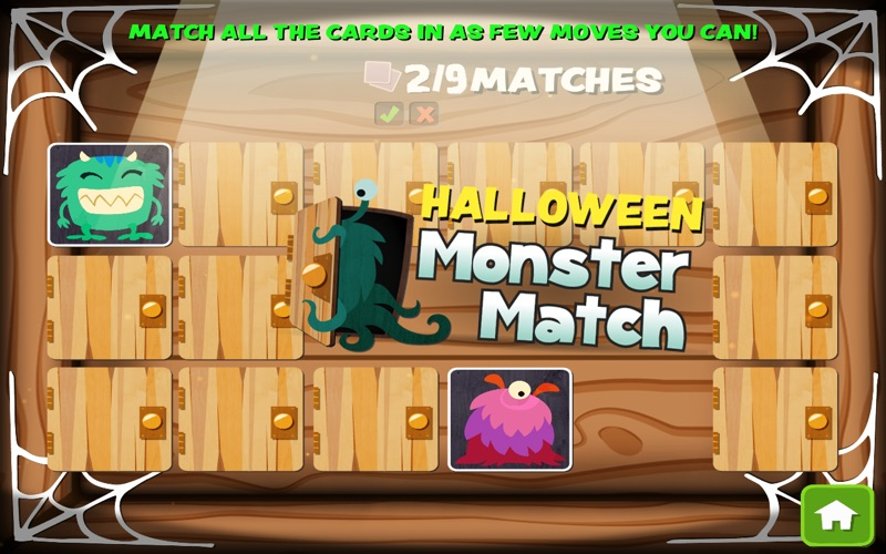 Halloween Monster Match screenshot 1