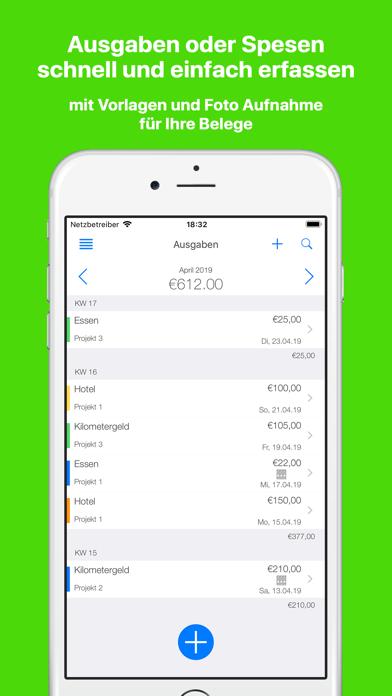 TimeTrack für FreelancerScreenshot von 5