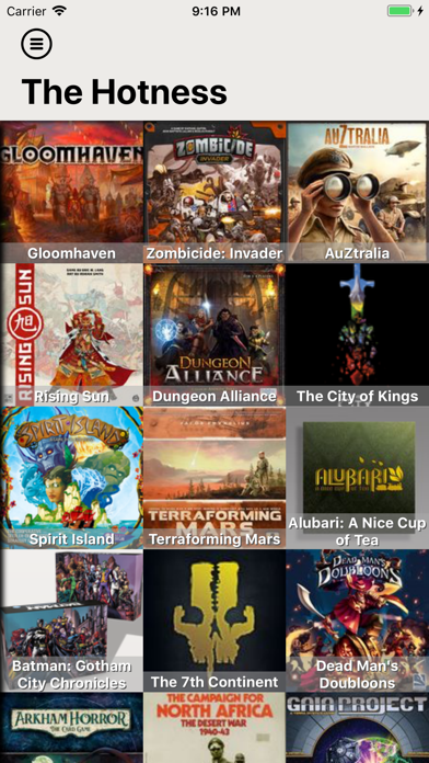BGG BoardGames Information screenshot one