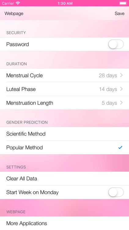 Best Menstrual Cycle Tracker screenshot-4