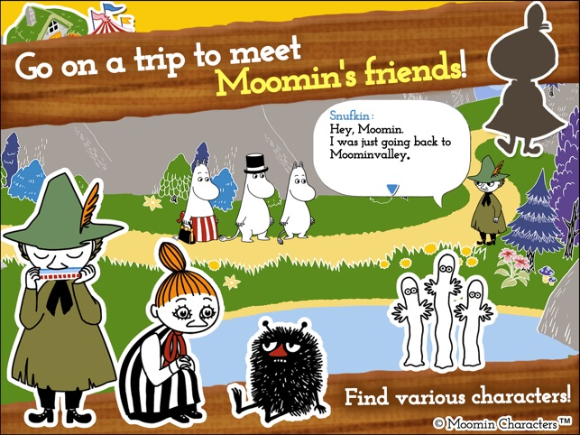 MOOMIN Welcome to Moominvalley on the App Store