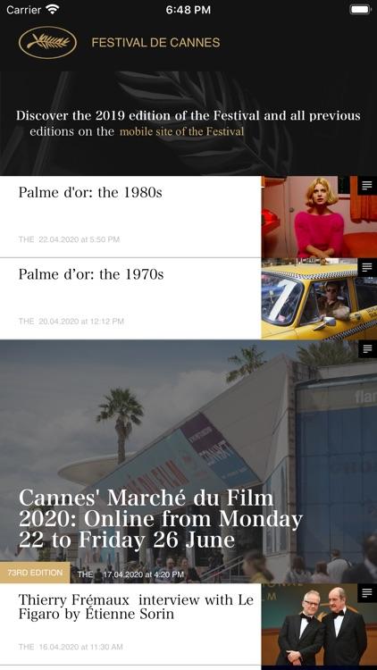 Festival de Cannes - Official