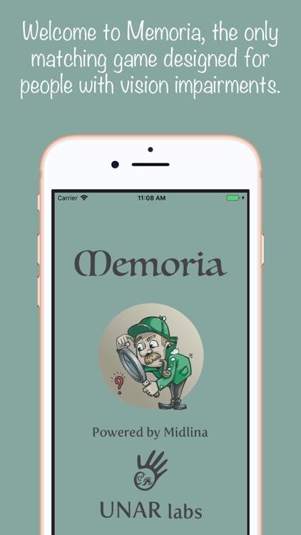 Memoria by UNAR Labs screenshot-0