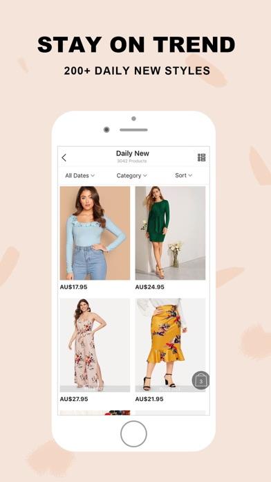 Screenshot for SHEIN-Fashion Shopping Online in Australia App Store