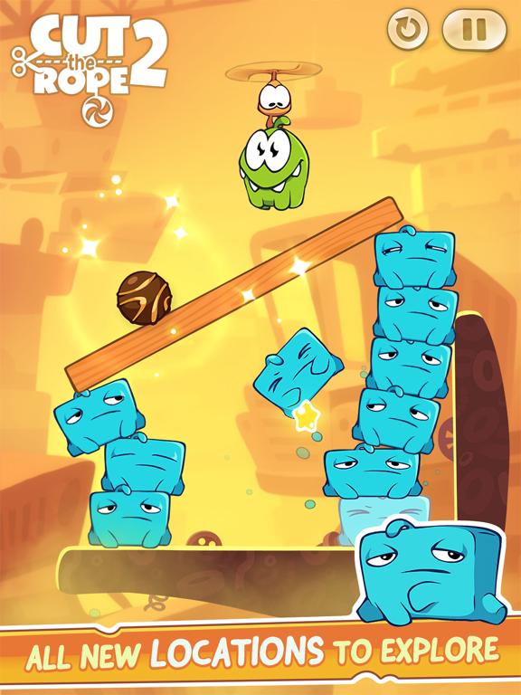 Cut the Rope 2: Om Nom's Quest - Screenshot 4