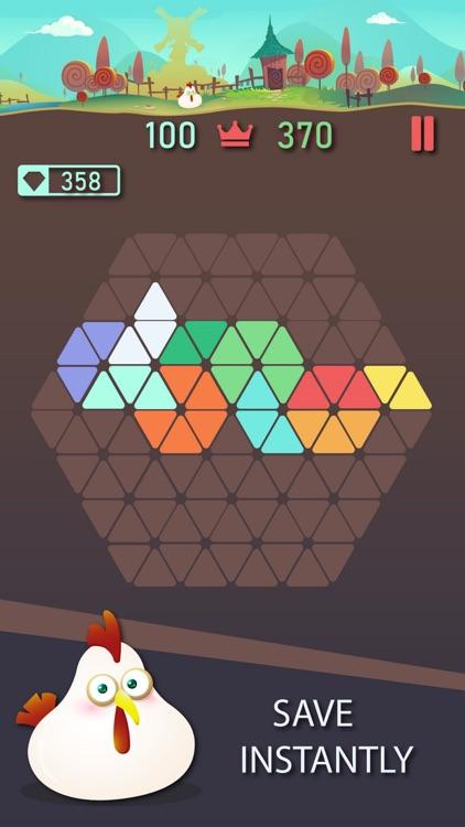 Trigon : Triangle Block Puzzle screenshot-4
