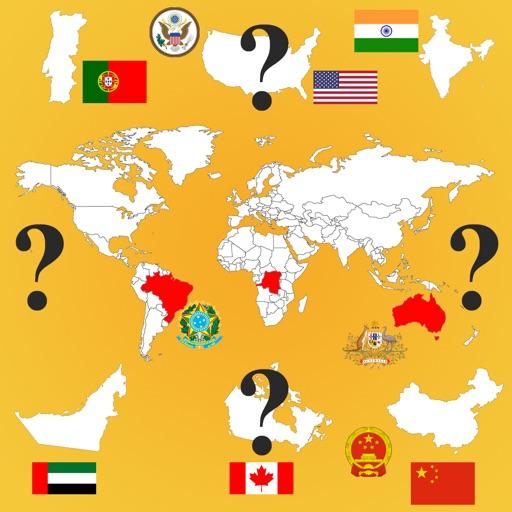 Country Flags, Maps, COA Quiz
