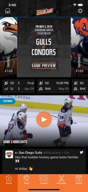 San Diego Gulls Hockey On The App Store